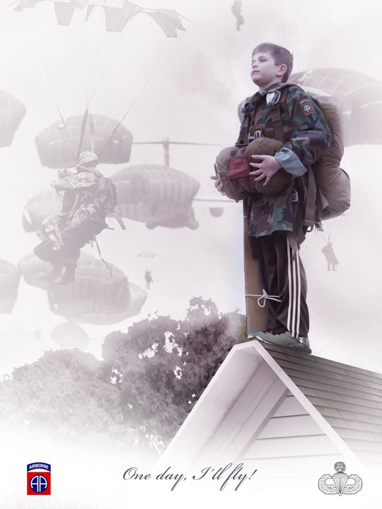 One day, I'll fly 82nd Airborne - Josh King Creative