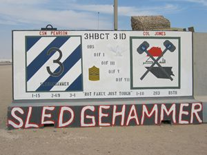 3HBCT 3ID Sledgehammer