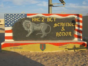 HHC 2nd BCT 1st Infantry Division
