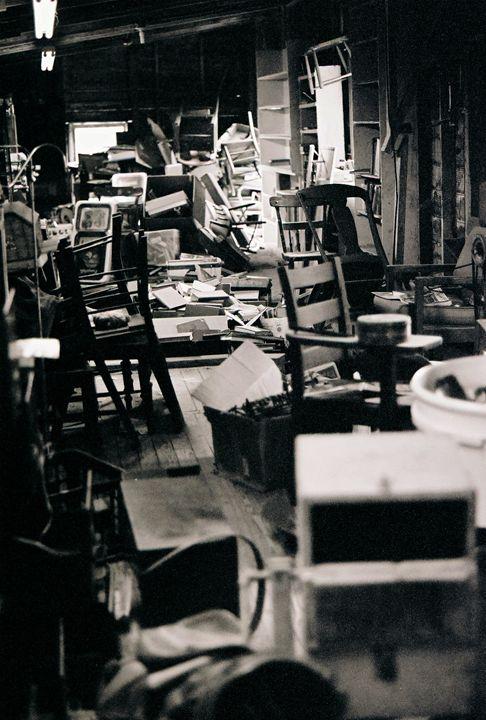Stacks of Chairs - Josh King Creative