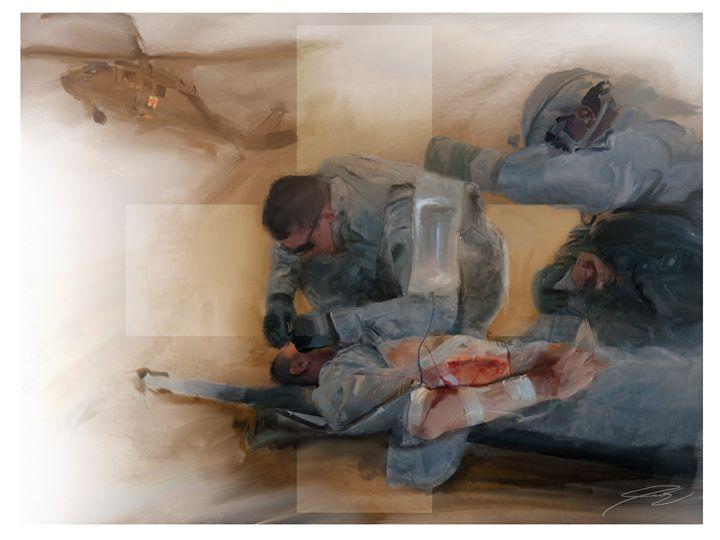 Combat Medic - Josh King Creative