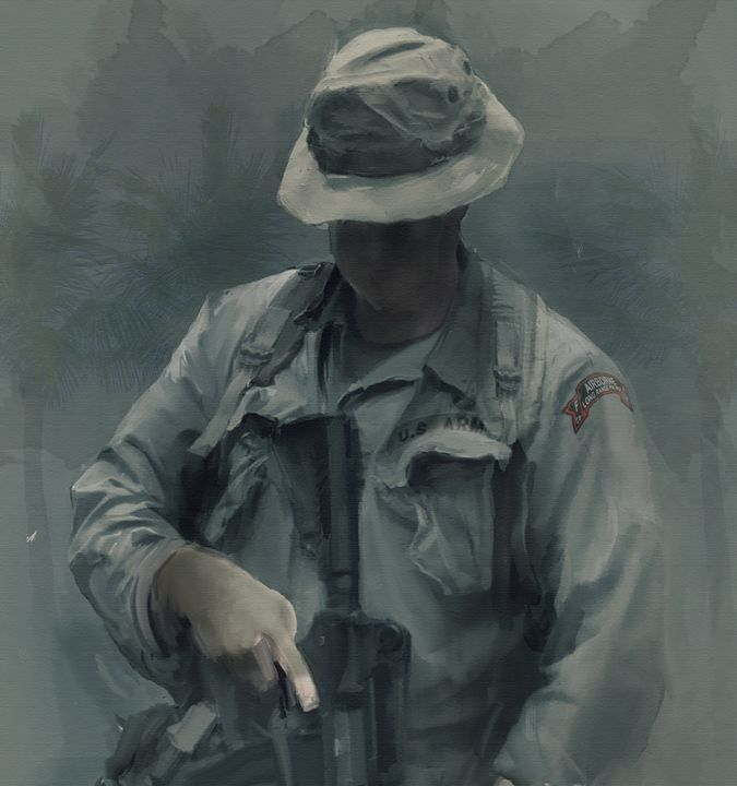 F Co.  51st INF LRRPs in Vietnam - Josh King Creative