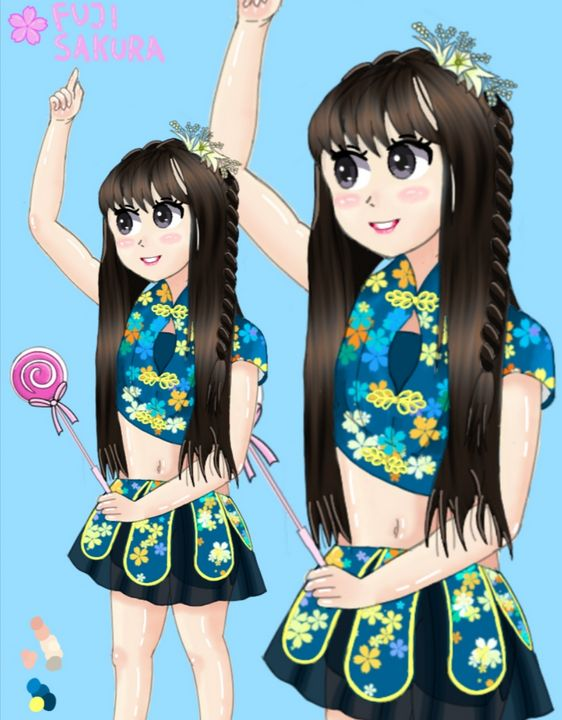 anime portrait - anjelo.dt