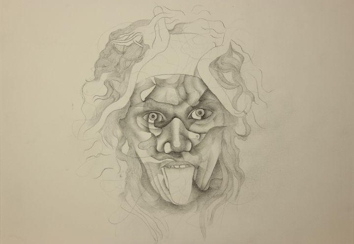 Medusa - Antonio Borrero