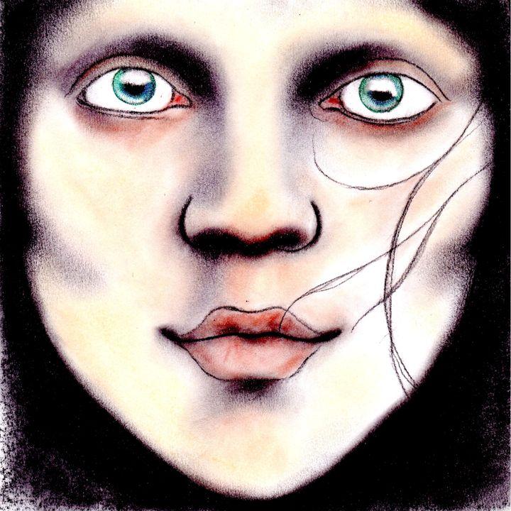 Eve (paint versión) - Antonio Borrero
