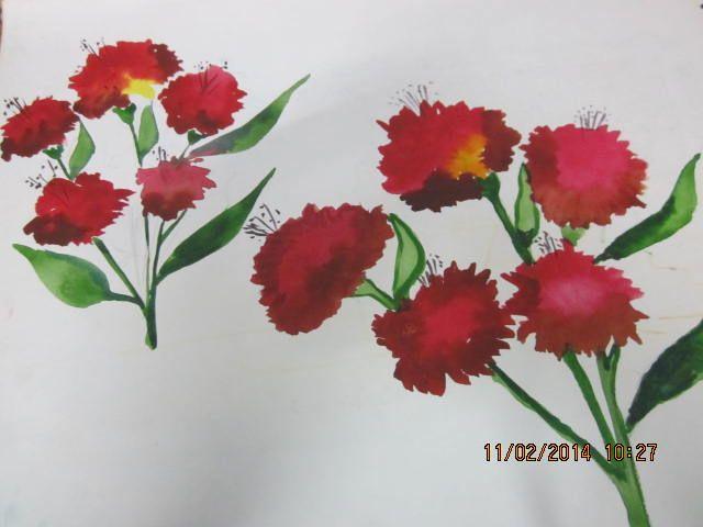 flower - fingerprints