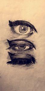Shaggy eyes