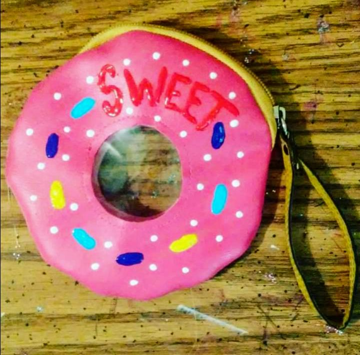 Sweet donut purse - Funk it UP designs