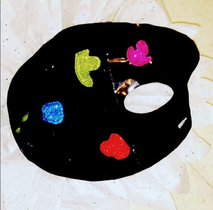 Paint pallet purse - Funk it UP designs