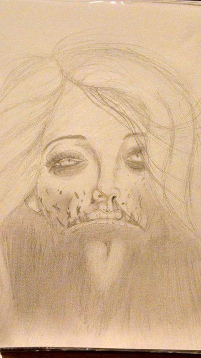 Zombie Girl - L. Olson