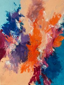 Forces Collide - Rebecca Cudlipp Art