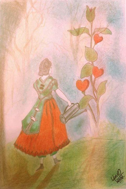 Love Tree - Umair Arts