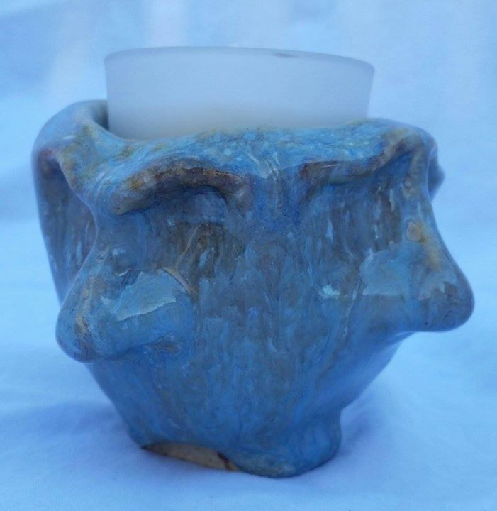 Facial Expressions Candle Holder - DJM
