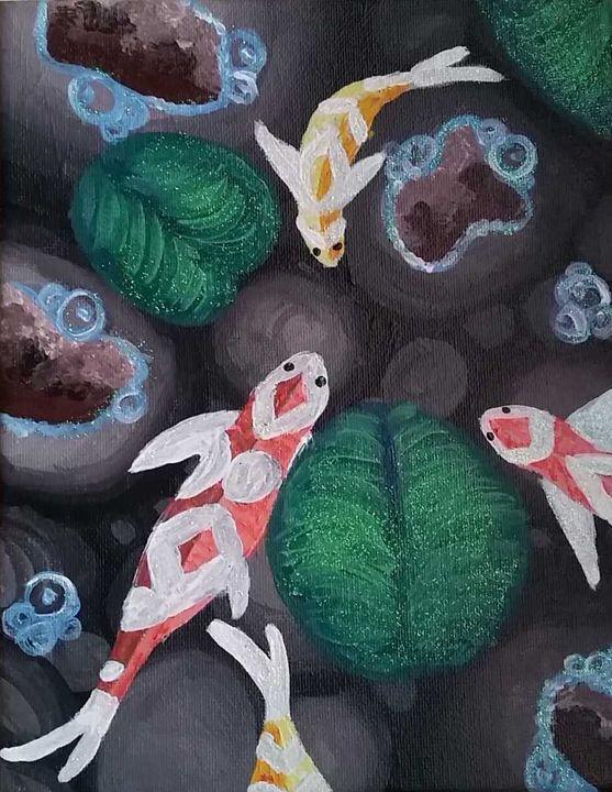 Koi Fish Pond - DJM