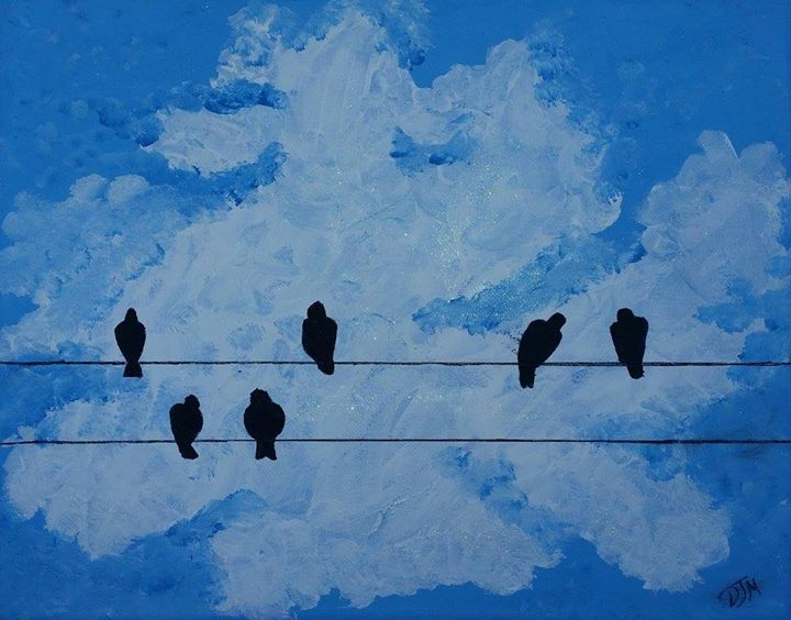 Birds on a Wire - DJM
