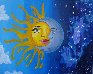 If the Sun and Moon shared a Face
