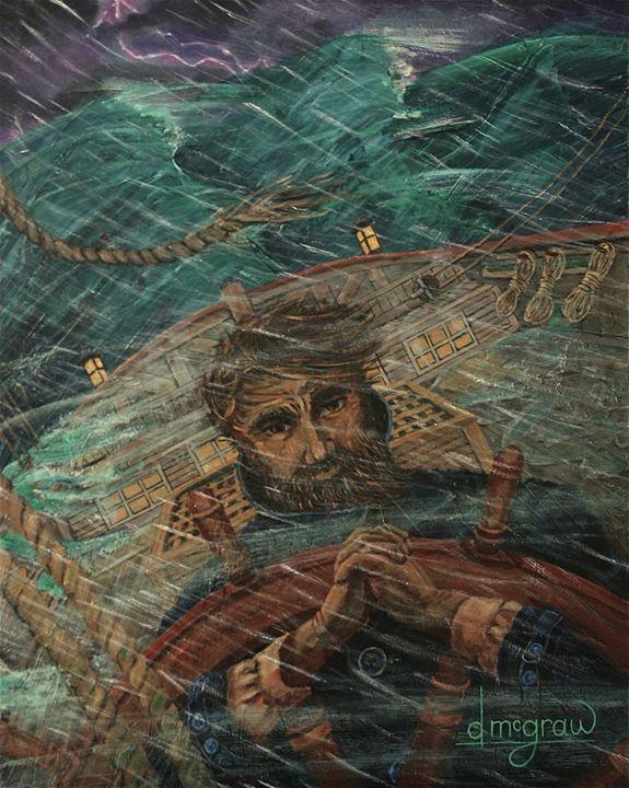 Amazing Grace / John Newton - McGraw original art watercolors/oils