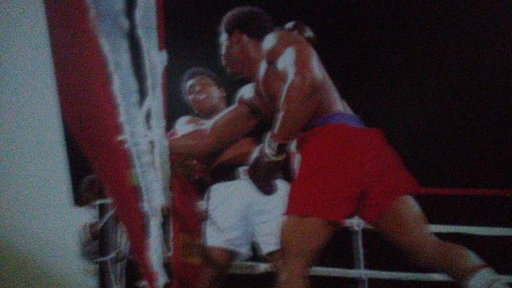 George Foreman vs Ali - Celebrities Status
