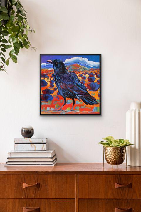 """""""The Seeker"""" 20x20"""" framed print - MARNA SCHINDLER"""