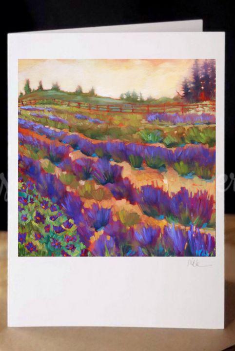 """Lavender Glow"" - MARNA SCHINDLER"