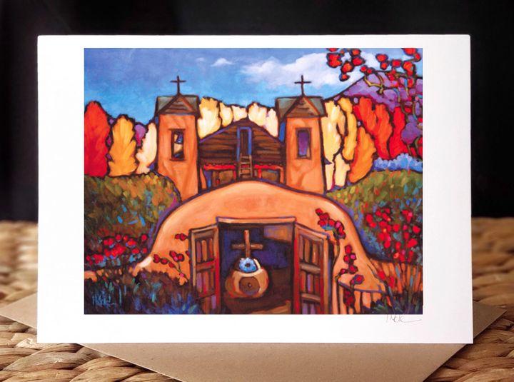 """""""Santuario de Chimayó"""" - MARNA SCHINDLER"""