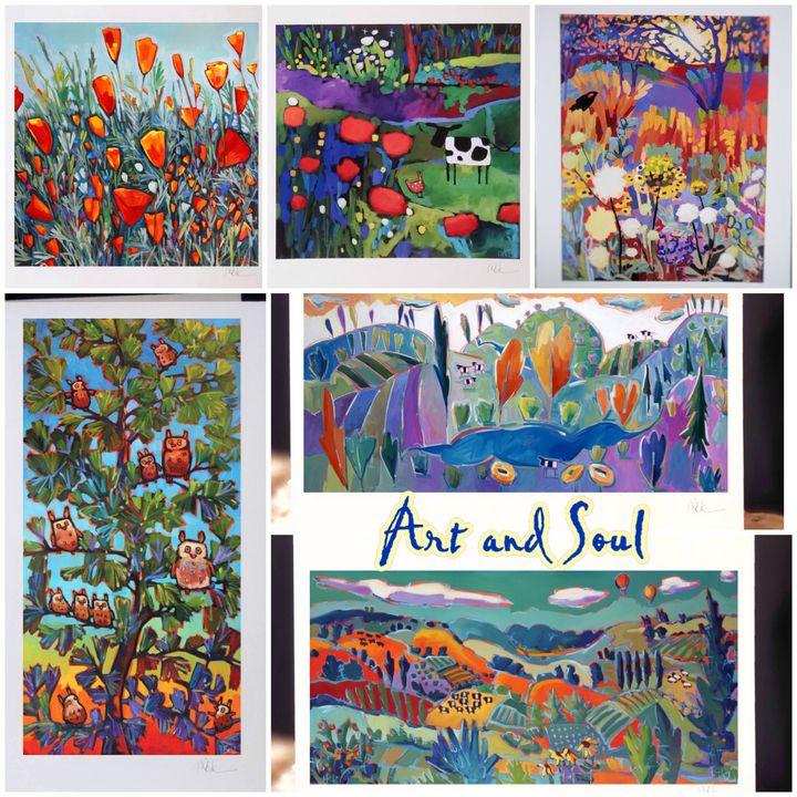 """Art and Soul"" 6 card set - MARNA SCHINDLER"