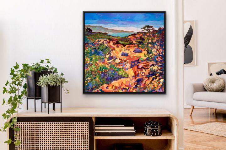 Framed print Torrey Pines Sunday - MARNA SCHINDLER