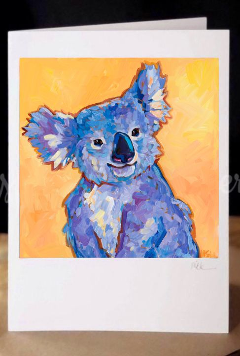 Koala greeting card! - MARNA SCHINDLER