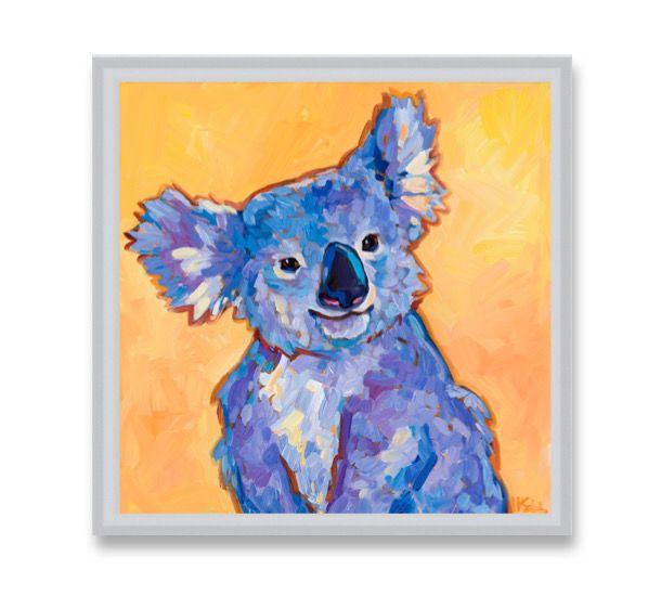 "Special offering, ""Koala"" 8x8 - MARNA SCHINDLER"
