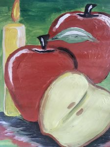 Three and a half apples - Aida's artworks