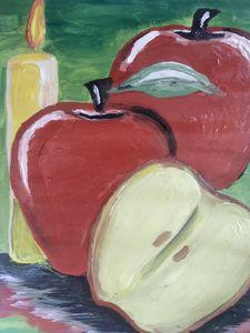 Three and a half apples - Aida's artworks