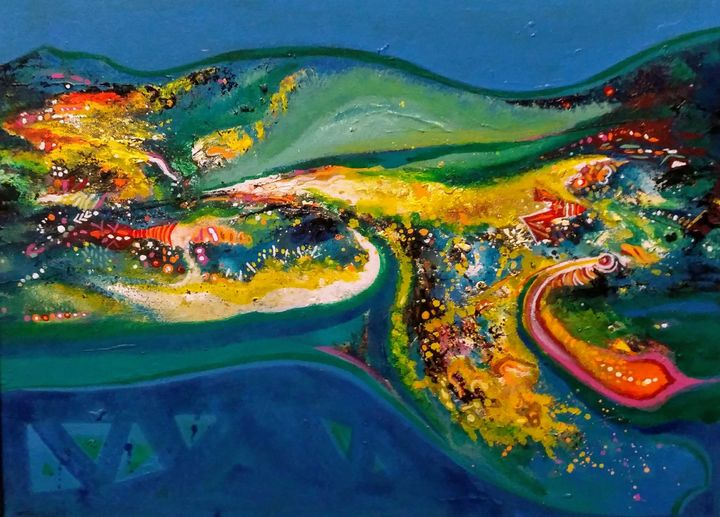 Beauty of Nature - vibrant paintings