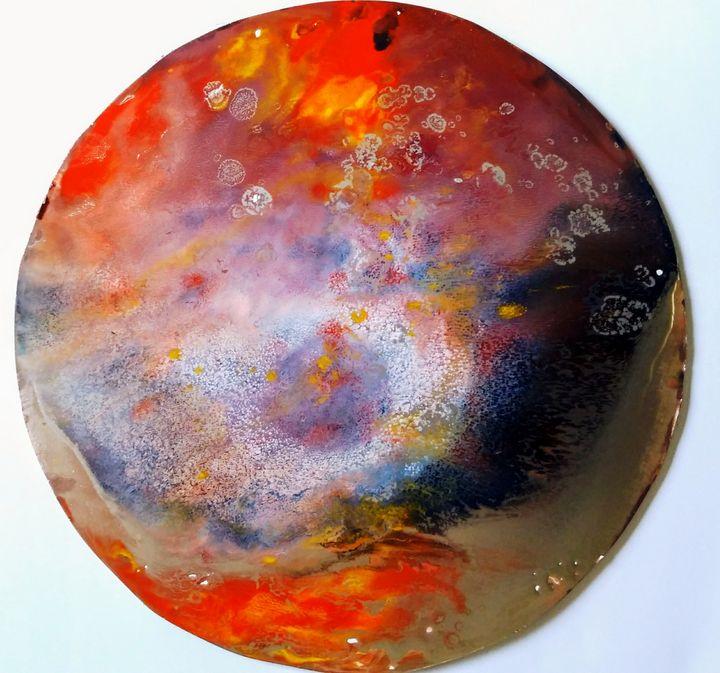BEAUTY OF MARS V - vibrant paintings