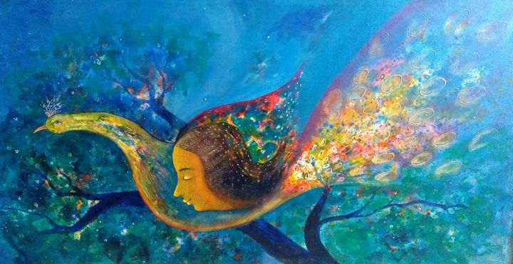 life - vibrant paintings