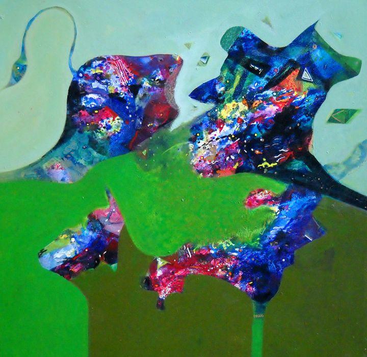 power - vibrant paintings