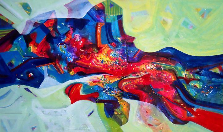 inner power - vibrant paintings
