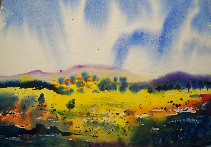 landscape3 - vibrant paintings