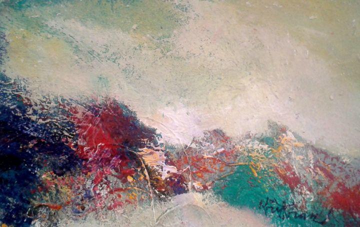 mindscape - vibrant paintings
