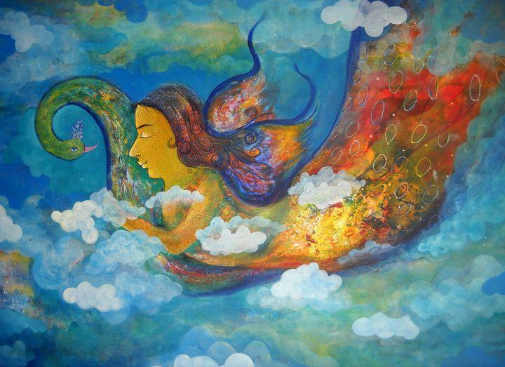 inner dream - vibrant paintings