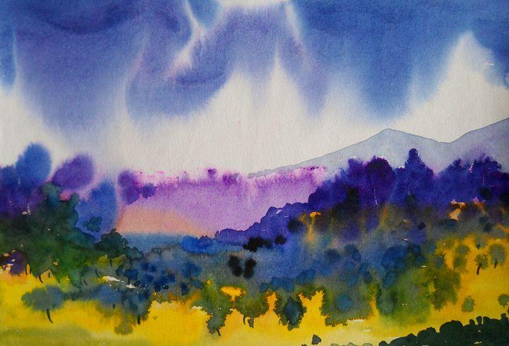 wild - vibrant paintings