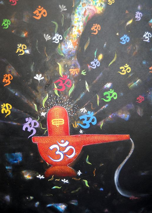 om - vibrant paintings