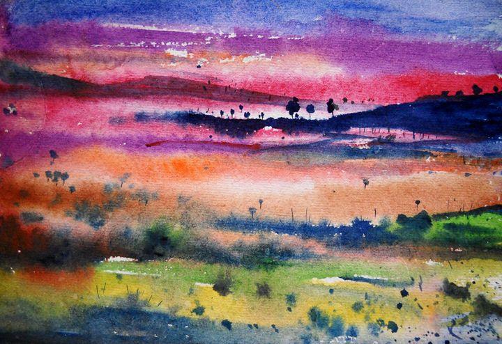 wild life - vibrant paintings