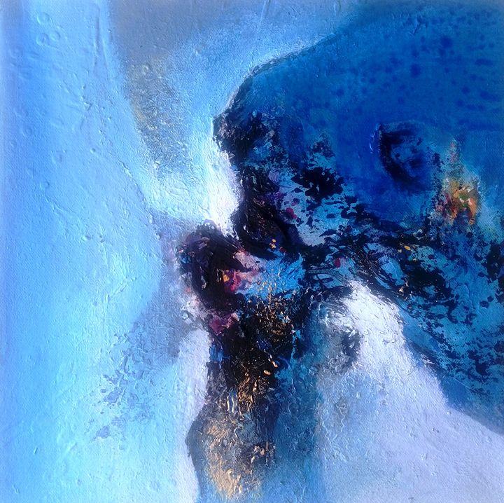 blue sea - vibrant paintings