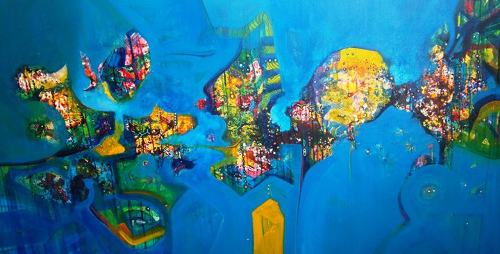 Glory of nature - vibrant paintings