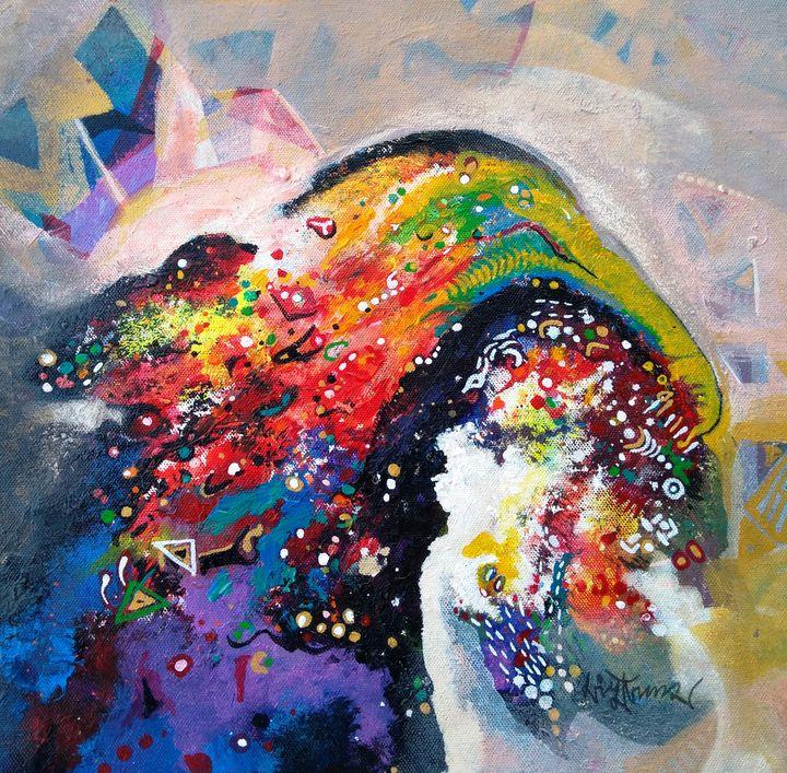 morning glory 50 - vibrant paintings