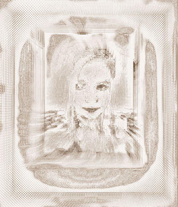 Donna sepia - Aleksandra Socha