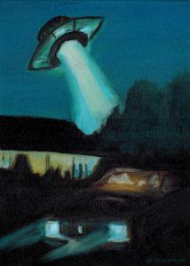 Ufo Art - Anthony Galeano Art