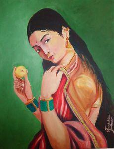 Raja Ravi Verma's Painting
