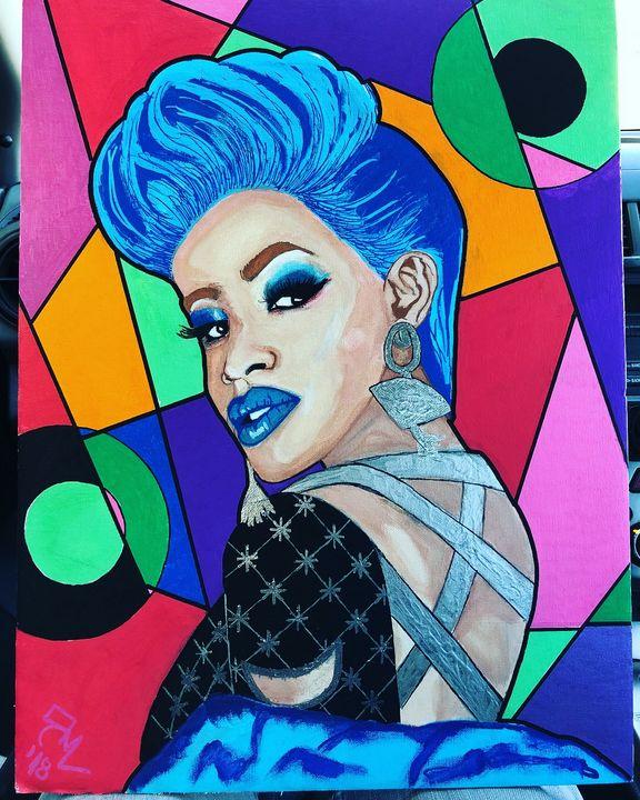 Cardi B - Arte By Renée Michele