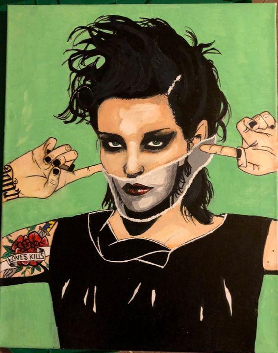 Saving Face - Arte By Renée Michele
